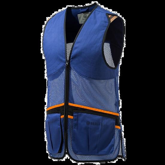 Beretta Full Mesh Vest Blue - Unisex