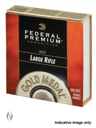 Federal Gold Medal Large Rifle Primers x 100