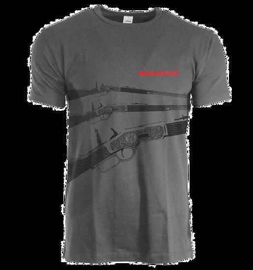 Winchester Rifle Tee Asphalt WINMTEE2