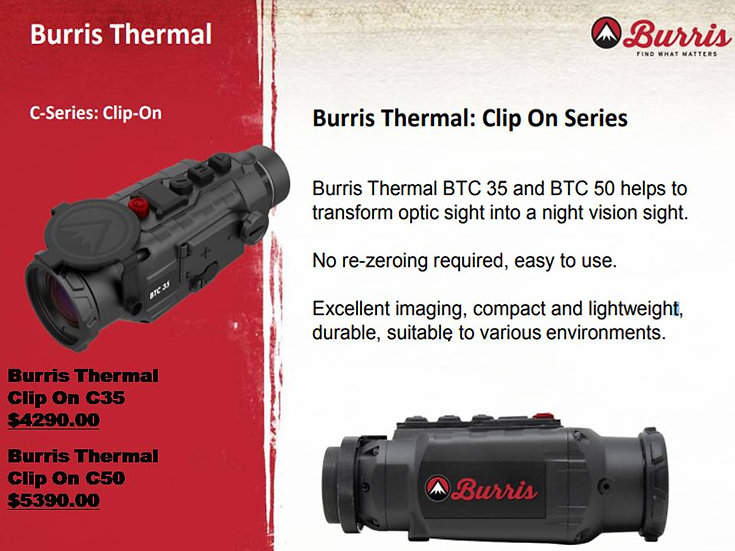 Burris Thermal Devices