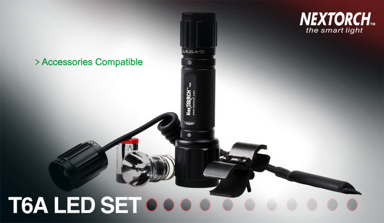 Nextorch T6A LED set