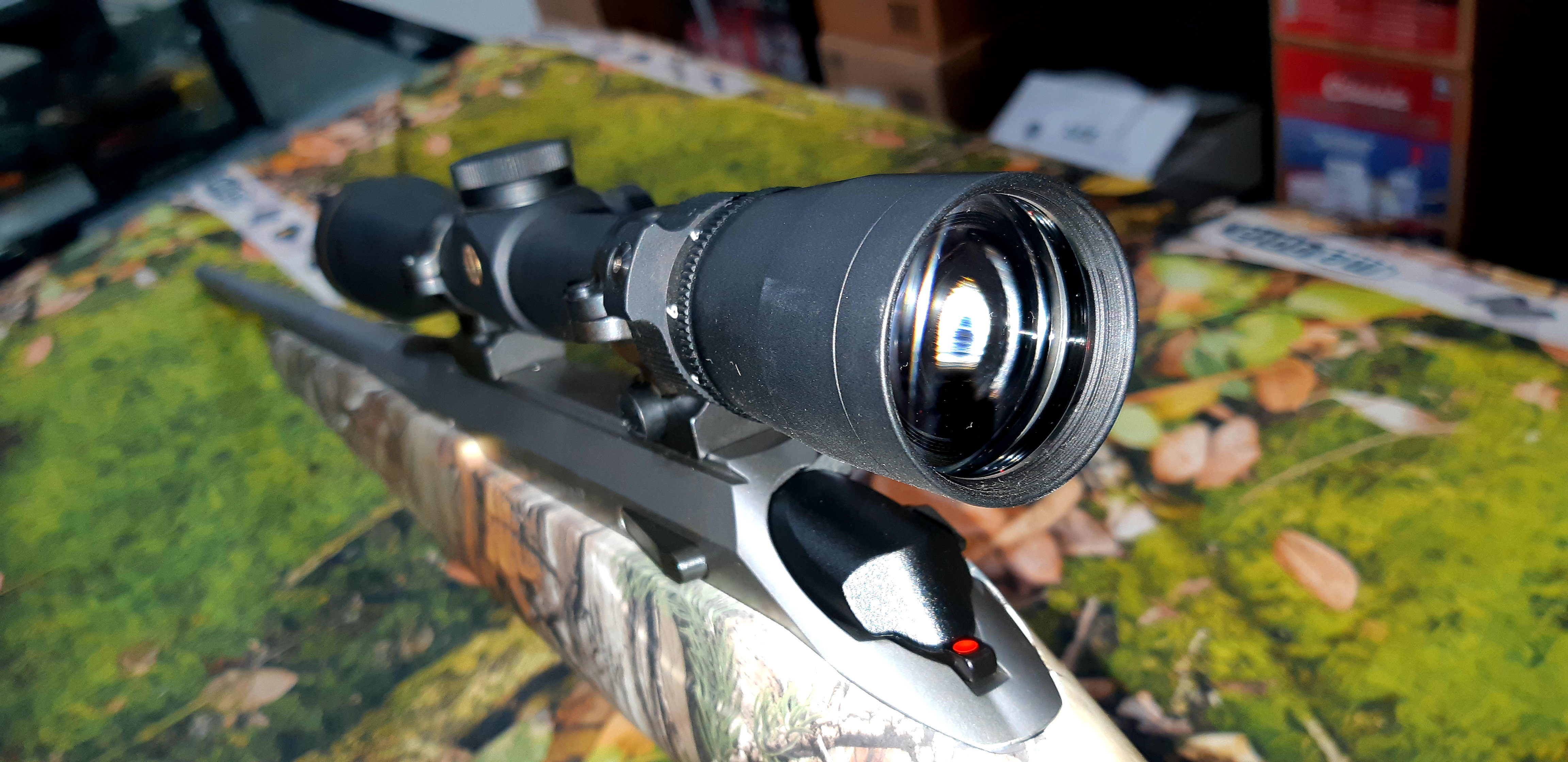 Tikka T3x Camo Stainless  223 + Scope | sunburyfirearms