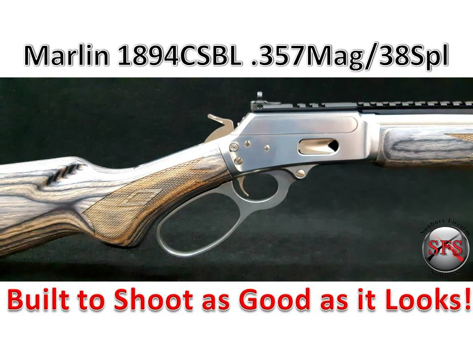 Marlin 1894CSBL .357Mag/38Spl