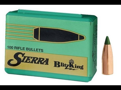 Sierra .22 cal 40gr Blitzking 100pk