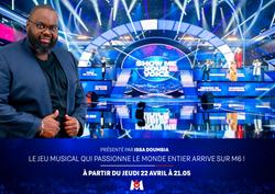 Le plateau de Show me your voice avec Issa Doumbia