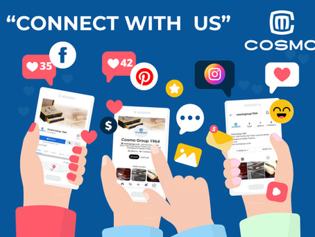 Cosmo Group launch new social media official profile