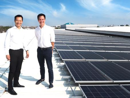 ไพร์มบ็อกซ์ เปิดแผน CSR ติดตั้งโซลาร์เซลล์ เดินหน้าโครงการโรงงานประหยัดพลังงาน