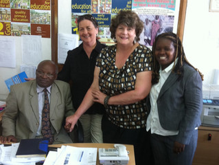 Meeting with Deputy Director of Kenyan Education