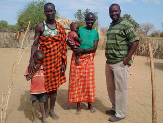 Meet Mr. Joram from Maggie's School Kenya