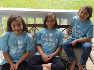 Don't Forget! Maggie's School T-shirts Are Here.