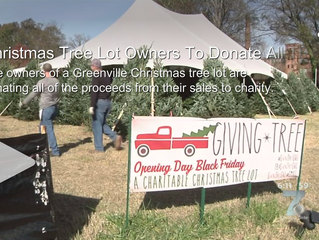 Christmas Tree Lot Owners To Donate All Their Proceeds