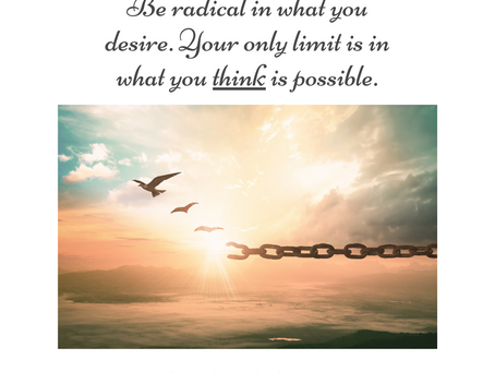 Are You Limiting Your Desires?