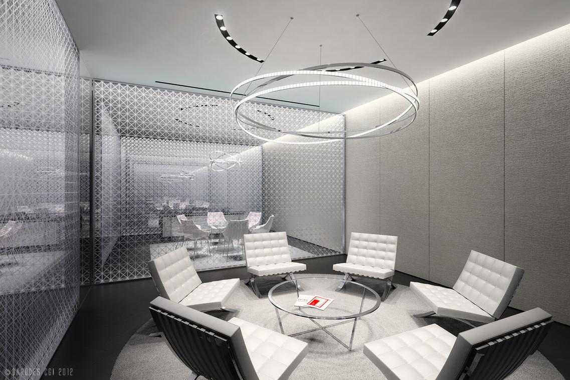 HSBC Meetingroom, Studie