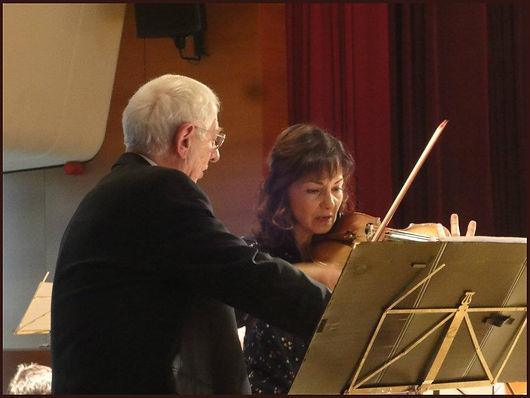 Alain Bancquart et Sona Kochafian