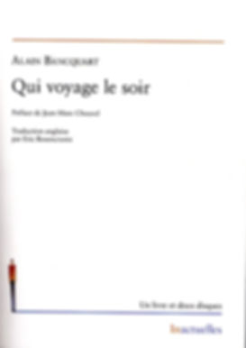 Alain Bancquart, Qui voyage le soir, éditions Inactuelles