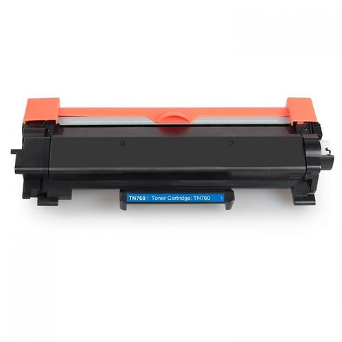 Earth Toner Brother TN760 compatible toner with chip
