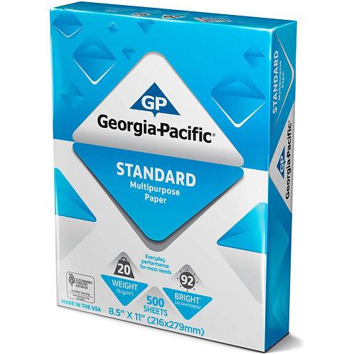 Georgia Pacific Copy SFI Certified Paper 500 Sheets