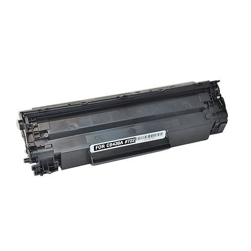 Earth Toner HP CB436A (HP 36A) Compatible Black Toner Cartridge