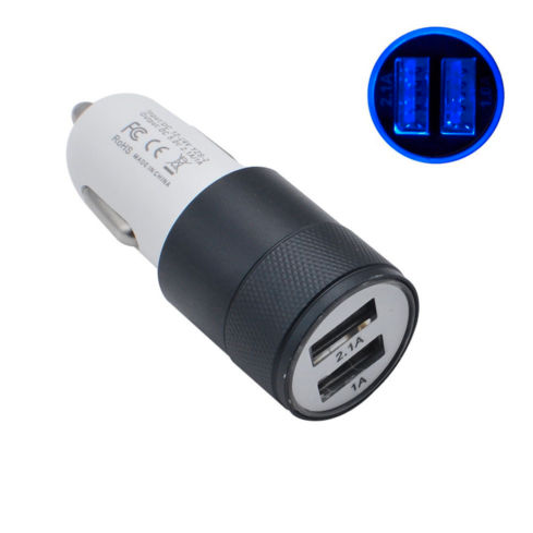 Car Charger Adapter (Dual USB Port)