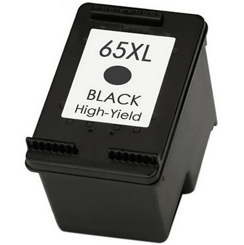 Earth Toner Remanufactured HP 65XL black ink cartridge