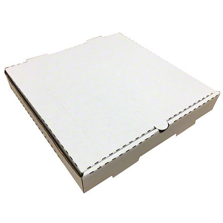 "10""x10""x2"" White Pizza Boxes Shrink Wrapped 50/case"