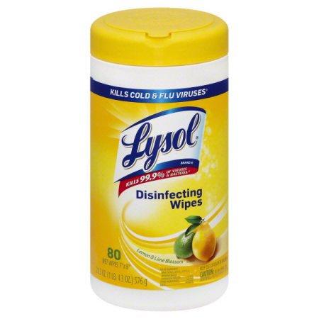 Lysol Disinfecting Wipes - Citrus 80 ct