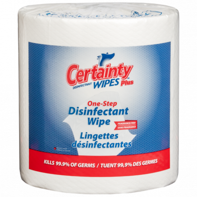 """Disinfectant Wipes   8""""x6"""" 