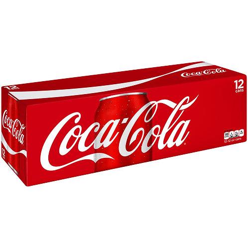 Coca-Cola Soft Drink (355ml Can 12/case)