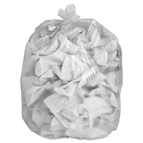 Clear Strong Garbage Bag 35x50