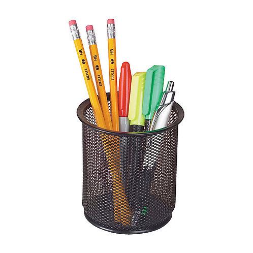 Metal Mesh Pencil Cup