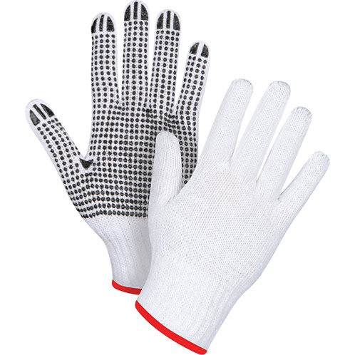 Dotted Knit Gloves Size: Small