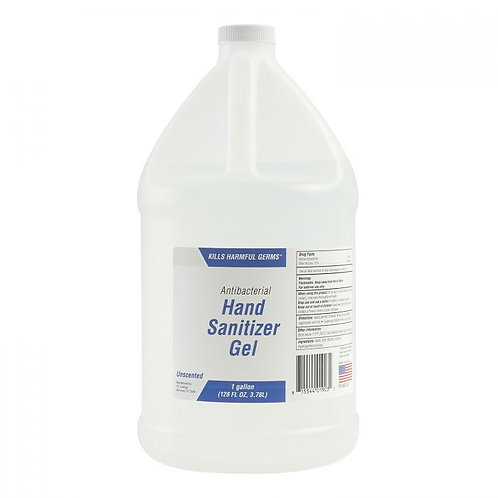 70% Alcohol Hand Sanitizer Gel 1 Gallon