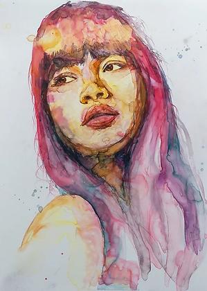 Female Portrait studies no.3
