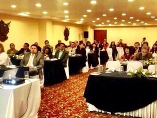 Eduardo Salcedo-Albarán participated in the training of public officials in Guatemala.