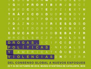 """Luis Jorge Garay en el Seminario Internacional: """"Drogas, políticas y violencias. Del consenso g"""