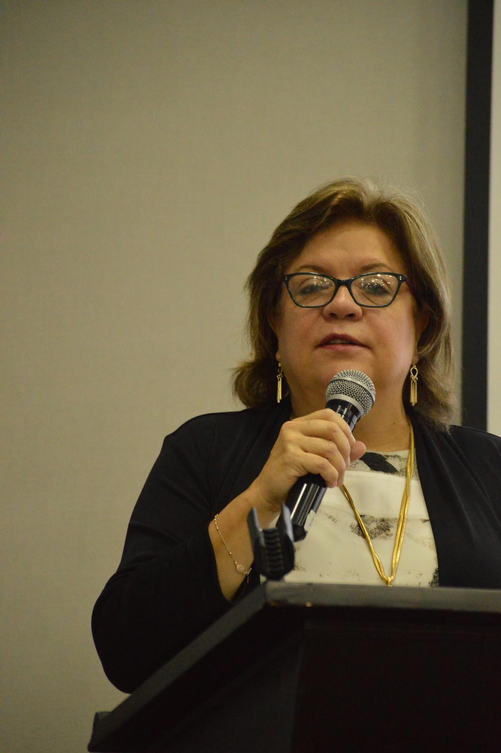 Ministra de Justicia y Derecho, Gloria María Borrero