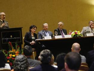 """""""Redes criminales avanzan en la captura de las instituciones"""", Luis Jorge Garay en Guatemala"""