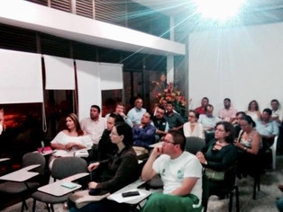 Conferencia de Eduardo Salcedo-Albarán en la Universidad del Tolima