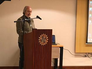 Luis Jorge Garay en el V Congreso Internacional de Comunicación Social para la Paz, U. Santo Tomás,
