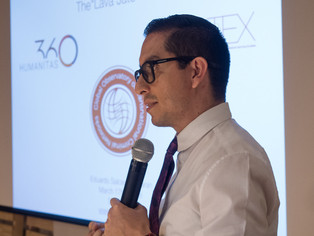 Eduardo Salcedo-Albarán at the Humanitas360 Board Meeting 2018