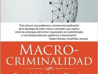 """Book release """"Macro-criminalidad: Complejidad y resiliencia de las redes criminales"""""""