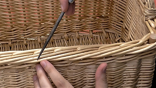 Willow rod borders: Advanced basketry video lesson