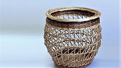 Special Basketry Techniques - Irish Creel Pairing