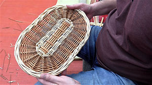 Oval Bases - Willow Basket Weaving Tutorial