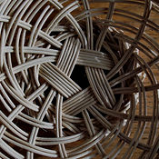 Logo for OnlineBasketry.com - Asaf Salim's School of Basketry - Online Basket Weaving Courses. A variety of video tutorials and DIY guids for willow basket weaving..