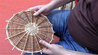 How to weave a willow base - Randing