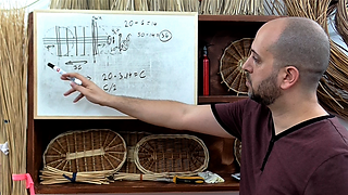 Willow basket weaving: Oval bases theory lesson
