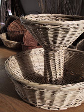 A Two-Level Basket from Date Palm Branches