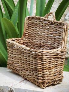 Wall-Hanging Mail Basket
