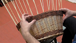 Willow Weaving Techniques - Calculated Waling Bands (Video)